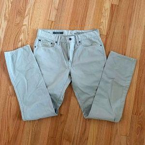 Gap 1969 Slim Khaki Jeans